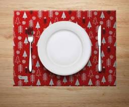 Supla de mesa, jogo americano, sextinha pra pão..