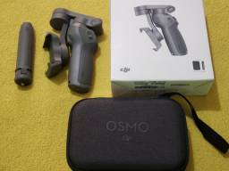 Estabilizador DJI Osmo Mobile 3 Combo c/ base + bolsa (usado apenas 1 vez)