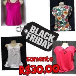 Aproveite nossa Black Friday qualquer blusa por R$30,00 ??????