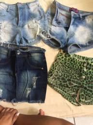 Desapegando blusas ,shorts