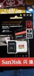 Cartão Sd SanDisk Extreme 32 Gb original 4K Lacrado