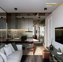 Título do anúncio: [ENTREGA NOV/21] Garden de 1 Dormitório de 34,61m² internos + 61,75m² de área descoberta,