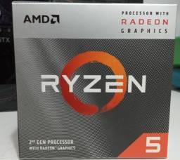 Título do anúncio: Processador AMD Ryzen 5 3400G 3.7GHz