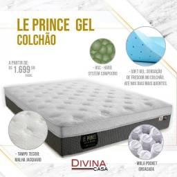 Colchão Le Prince Gel não esquenta no valor apenas 1699,99