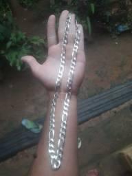 Vendo cordão de prata