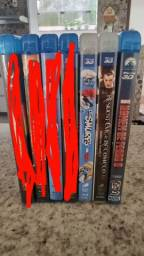Vendo Filmes Blue-Ray + Blue-Ray 3D
