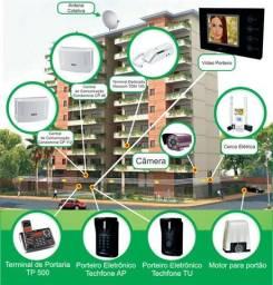 Trabalhamos c/ contrato de manutenção de assistencia tecnica completa  de condominio