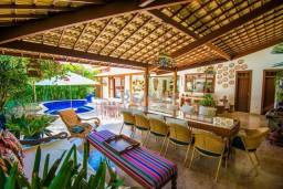 Título do anúncio: Casa com 5 suites para alugar, 500 m² por R$ 2.500/dia - Praia do Forte - Mata de São João