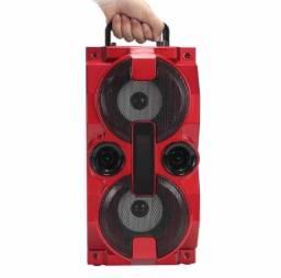 Título do anúncio: Caixa de Som Bluetooth S/ Fio Grasep C/ Rádio, PEN DRIVE e Controle 1500w<br>