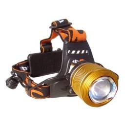 lanterna de cabeça t6 led com ajuste de abertura(zoom)