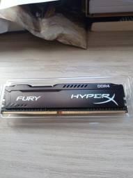 Memória RAM 8G (2x4) 2400 MHz