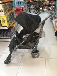 Carrinho de bebê -Chicco Lite Way Black