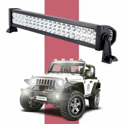Título do anúncio: Barra LED 53cm Farol Auxiliar Milha Cree 120w Foco 30º Off Road