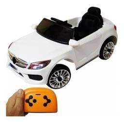 Carro Elétrico Mercedes Criança Infantil Com Controle Remoto