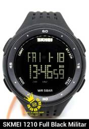 Relógio SKMEI Militar 1219 Black led sport Unissex A Prova D'água ENTREGA GRÁTIS*