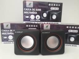 Caixa de som para PC 5W em Maracanaú (loja)