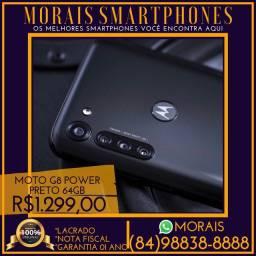Moto G8 Power 64Gb (LACRADO COM NOTA COR PRETO)