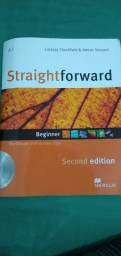Livro Straightforward Workbook com cd e Student's Book