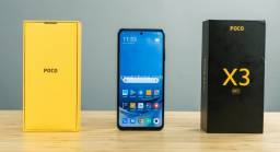 SmartPhone Poco X3 NFC 6Gb Ram/128Gb Armazenamento - Pronta Entrega