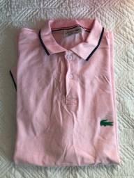 Blusa Polo Lacoste Rosa