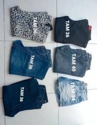 Título do anúncio: Calça jeans e short jeans
