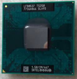 Processador Intel Dual Core T5250 1.50ghz Notebook Mpga478mn