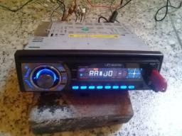 radio  cd  usb  entrada   auxiliar  funcionando
