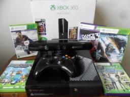 Xbox 360 4gb + Kinect (o + novo com melhor preço)