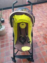 Carrinho de bebê Chicco Liteway cor amarelo