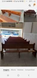 Banco madeira pura lugar para 5 pessoas