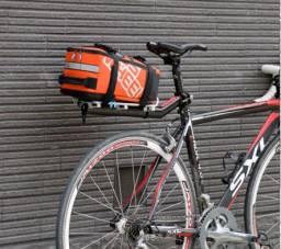 Bolsa Bagageiro Alforge De Bike Removível 5l Usada
