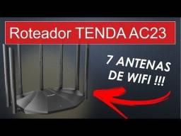 Título do anúncio: Roteador Tenda AC23 7 antenas 5g