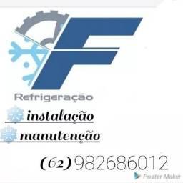 Título do anúncio: Instalação, manutenção em ar condicionados