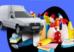 Vendo Rota de Produtos de Limpeza