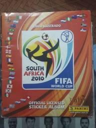 Título do anúncio: Álbum da copa do mundo de 2010 completo