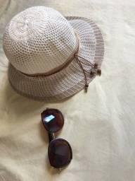 Desapega - Chapéu e Óculos Praia