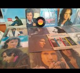 Coletânea de LP e 10 cds Roberto Carlos