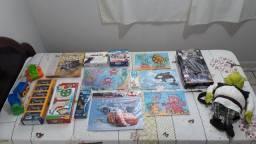 Título do anúncio: kit combo de brinquedos para menino com 15 peças variadas