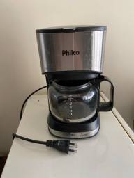 Cafeteira Philco inox até 15 cafés acende mas não esquenta a água