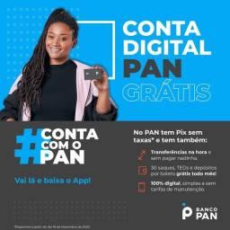 Cartão de crédito/ conta digital PAN https://agx.link/ZGKA7ZNEu