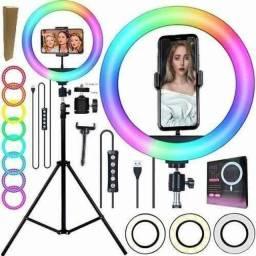 Ring Light multicolorido