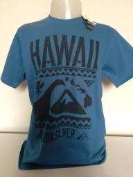 Título do anúncio: Camiseta Surf Quiksilver Azul