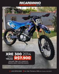 Título do anúncio: XRE 300 para trilha 2014