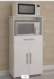 Balcão para forno e microondas