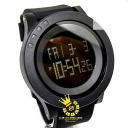 Relógio Militar SKMEI 1142 Bolachão civil robusto fumê Led PROVA D'ÁGUA ENTREGA GRÁTIS*