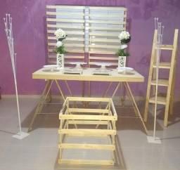 Vendo kit de móveis para festa! Desmontáveis e super portátil