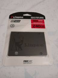 Título do anúncio: HD SSD KINGSTON 240GB NOTEBOOK/PC ORIGINAL (LACRADO)