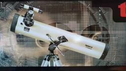 Título do anúncio: Telescópio Refletor Tasco Luminova 420X 76mm