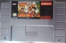 Título do anúncio: Pateta e Max - Cartucho de Super Nintendo
