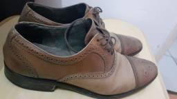 Sapato social marrom  couro legítimo